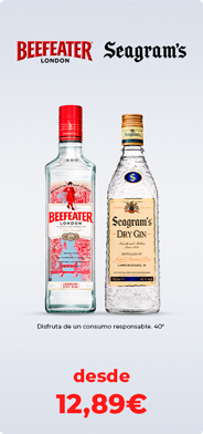 Beefeater y Seagram´s