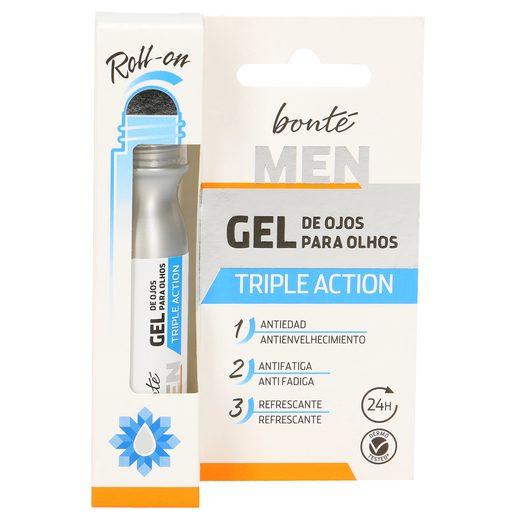 BONTE gel contorno de ojos triple acción roll on 15 ml