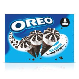 OREO mini helado cono caja 8 uds 160 gr