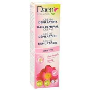 DAEN crema depilatoria rosa mosqueta tubo 125 ml