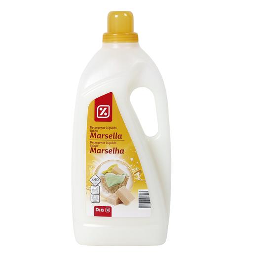 DIA detergente máquina líquido al jabón de marsella botella 3 lt 40 lv