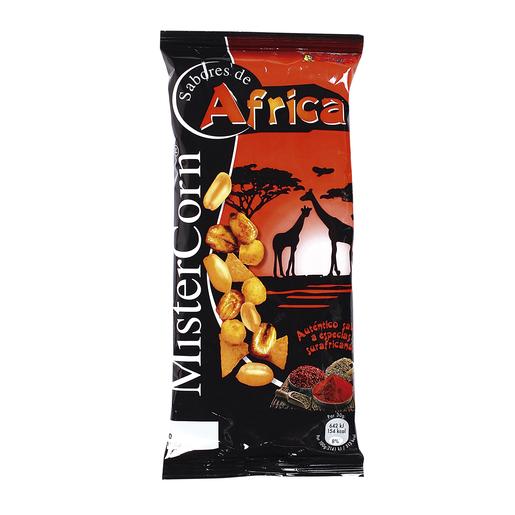 GREFUSA Mister corn sabores de áfrica cocktail frutos secos bolsa 97 gr