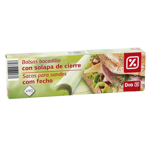 DIA bolsa sandwich paquete 40 uds