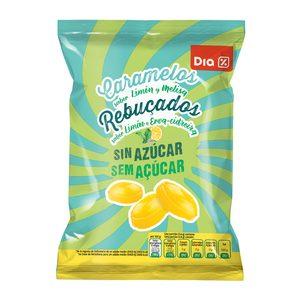 DIA caramelos sin azúcar sabor limón bolsa 200 gr