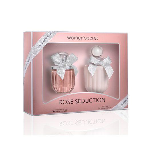 WOMEN SECRET pack rose seduction colonia 100 ml + loción 200 ml