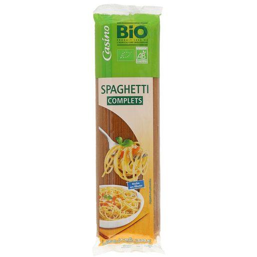 CASINO BIO spaguetti integral paquete 500 gr