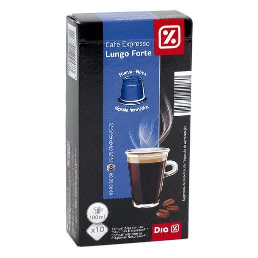 DIA café espresso caja 10 cápsulas