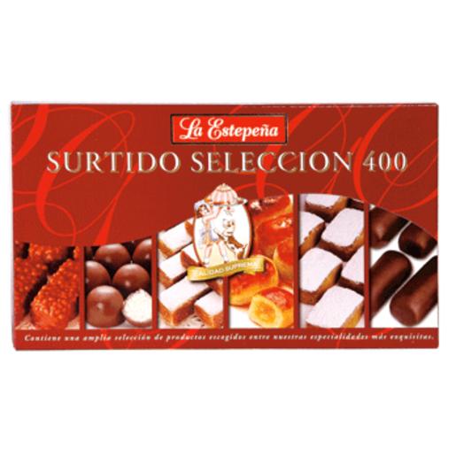 LA ESTEPEÑA surtido selección caja 400 gr