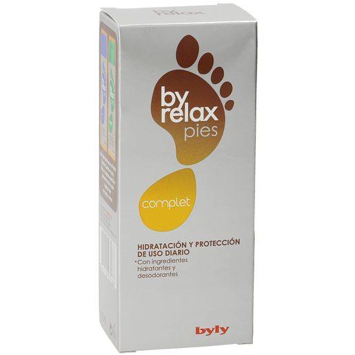 BYRELAX complet crema hidratante y protección para pies caja 75 ml