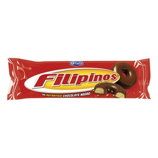 FILIPINOS chocolate negro paquete 135 gr