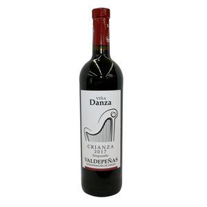 VIÑA DANZA vino tinto crianza DO Valdepeñas botella 75 cl