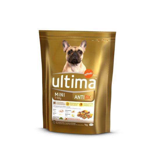 ULTIMA alimento para perros mini antiox bolsa 1 kg