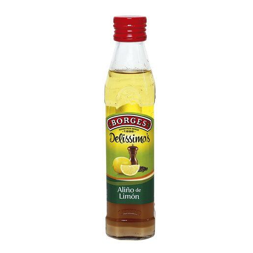 BORGES Delissimo`s aliño de limón botella 250 ml