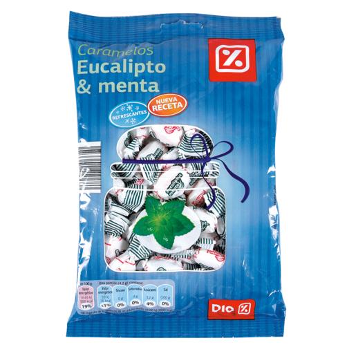 DIA caramelos eucalipto y menta bolsa 300 gr