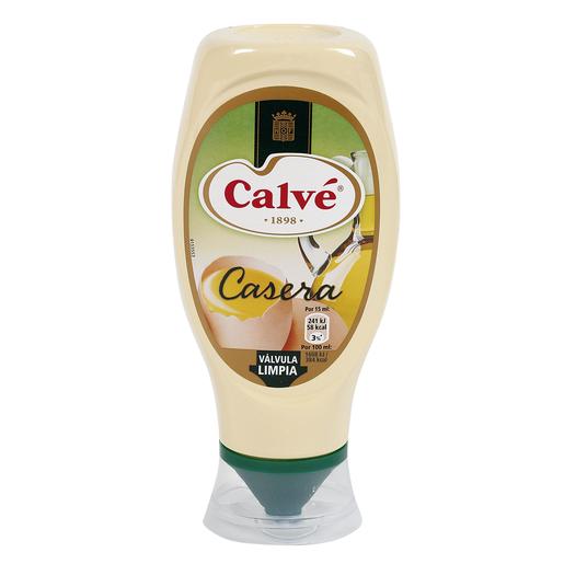 CALVE mayonesa bocabajo bote 430 ml