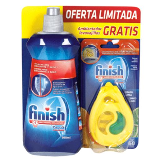 FINISH pack abrillantador + desodorante gratis 500 ml