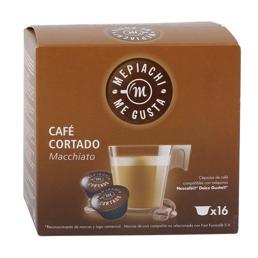 MEPIACHI café cortado caja 16 cápsulas