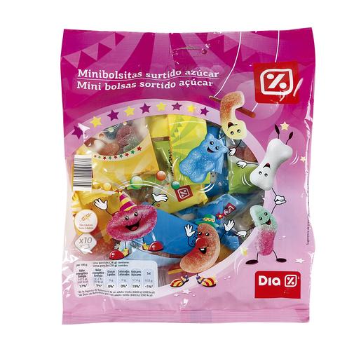 DIA mini bolsitas surtido azúcar bolsa 280 gr