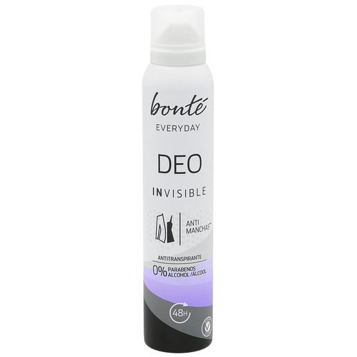 BONTE everyday desodorante invisible spray 200 ml