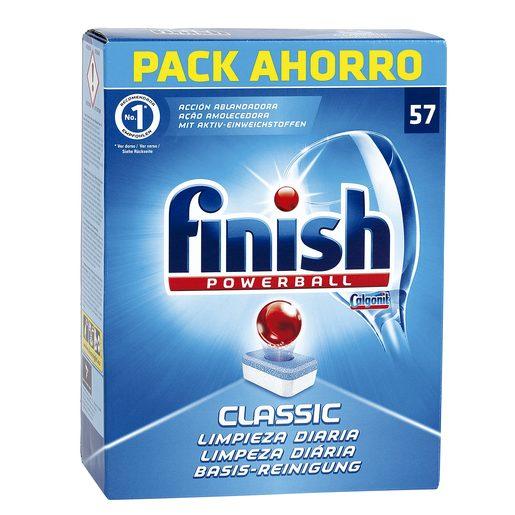 FINISH lavavajillas máquina classic caja 57 pastillas