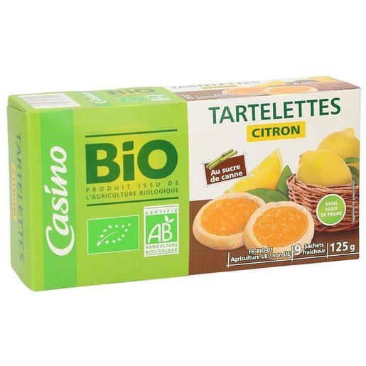 CASINO BIO tartaletas rellenas de limón caja 125 gr