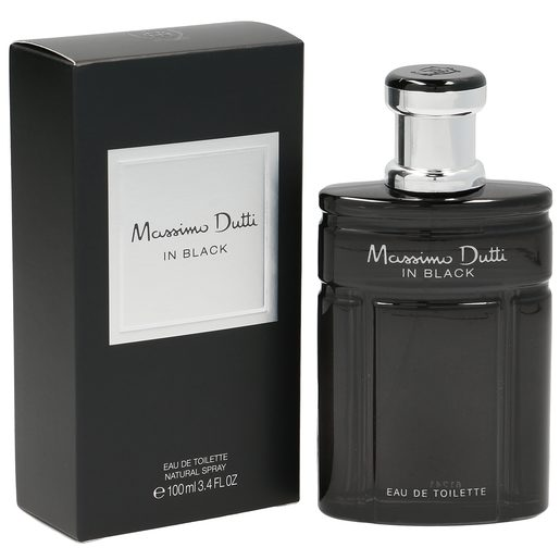 MASSIMO DUTTI colonia in black frasco 100 ml