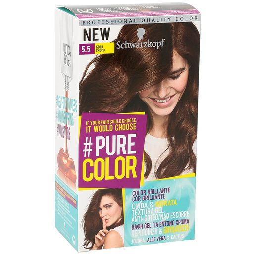 PURE COLOR tinte Gold Choco Nº 5.5 caja 1 ud