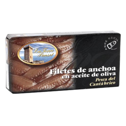 LA TORRE PUNSET filetes de anchoa en aceite oliva lata 30 gr