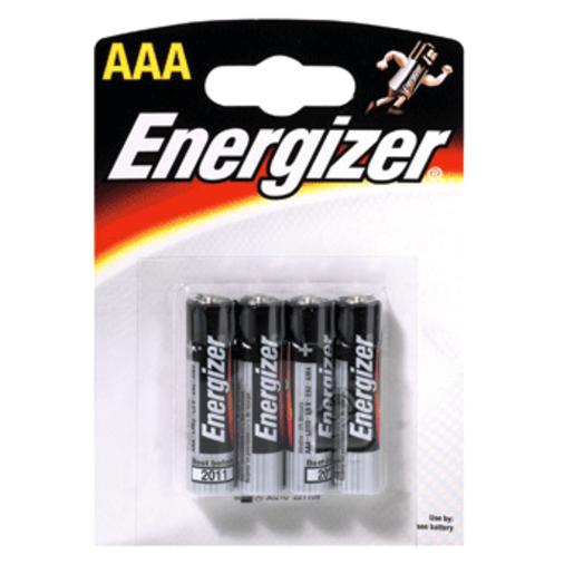 ENERGIZER pila alcalina  AAA (LR3) blister 4 unidades