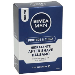 NIVEA Men bálsamo after shave hidratante protege&cuida frasco 100 ml