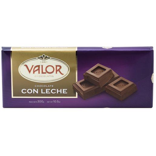 VALOR chocolate con leche tableta 300 gr