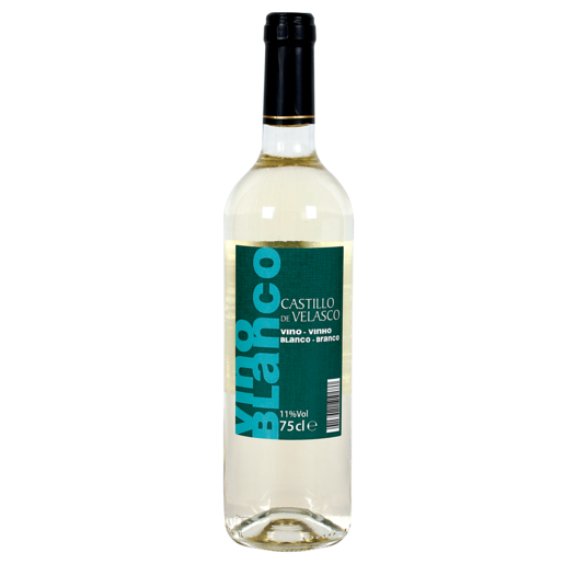 CASTILLO DE VELASCO vino blanco botella 75 cl