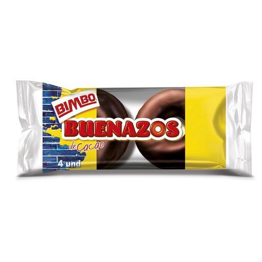 BIMBO pastelitos buenazos chocolate paquete 4 uds 200 gr