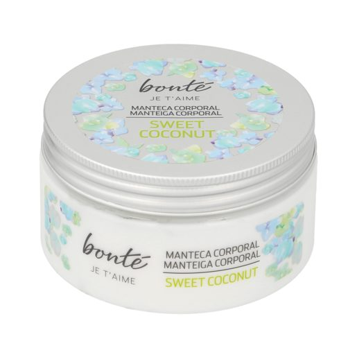 BONTE manteca corporal sweet coconut tarro 200 ml