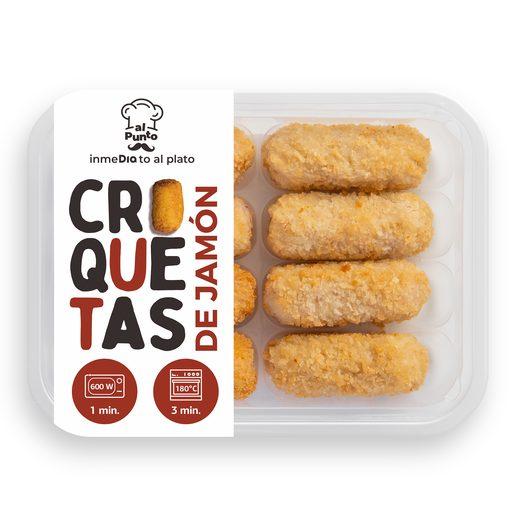 DIA AL PUNTO croquetas de jamón bandeja 8 uds 280 gr