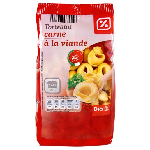 DIA tortellini de carne PAQUETE 250GR