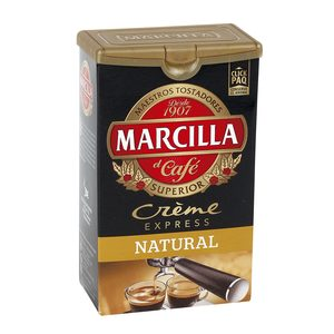 MARCILLA café molido creme express natural paquete 250 gr