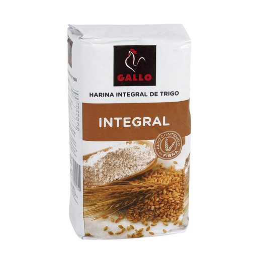 GALLO harina integral de trigo paquete 1 Kg