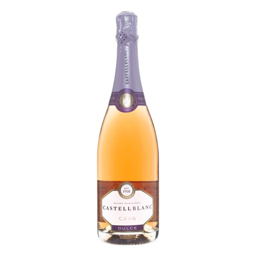 CASTELL BLANC cava dulce rosado botella 75 cl