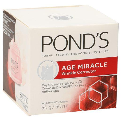 PONDS Age miracle crema de día antiarrugas tarro 50 ml