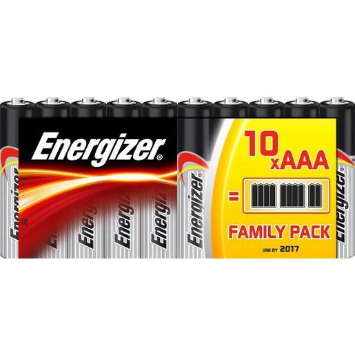 ENERGIZER pilas AAA (LR03) blister 10 unidades