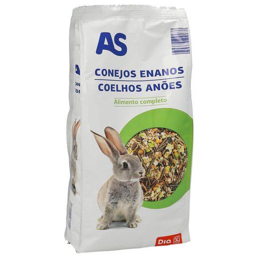 DIA alimentos para  conejos enanos bolsa 1 kg