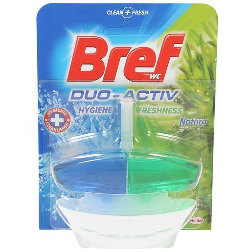 BREF block wc líquido desinfectante duo-activo colgador + recambio 1 ud