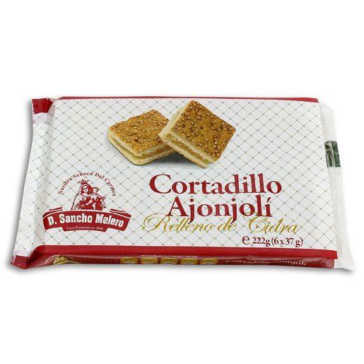 SANCHO MELERO cortadillo ajonjoli relleno de cidra paquete 222 gr