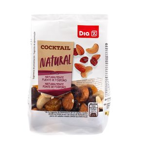 DIA cocktail natural frutos secos bolsa 125 gr