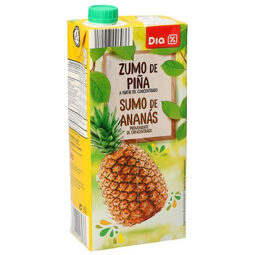 DIA zumo de piña envase 1 lt