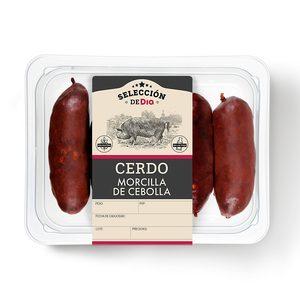 SELECCIÓN DE DIA morcilla de cebolla bandeja 300 gr