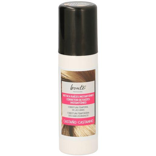 BONTE tinte castaño retoca raíces instantáneo spray 75 ml