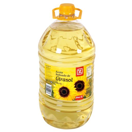 DIA aceite de girasol garrafa  5 lt