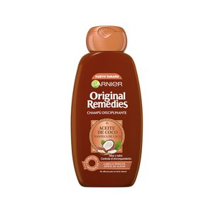 ORIGINAL REMEDIES  champú aceite de coco y manteca de cacao bote 300 ml